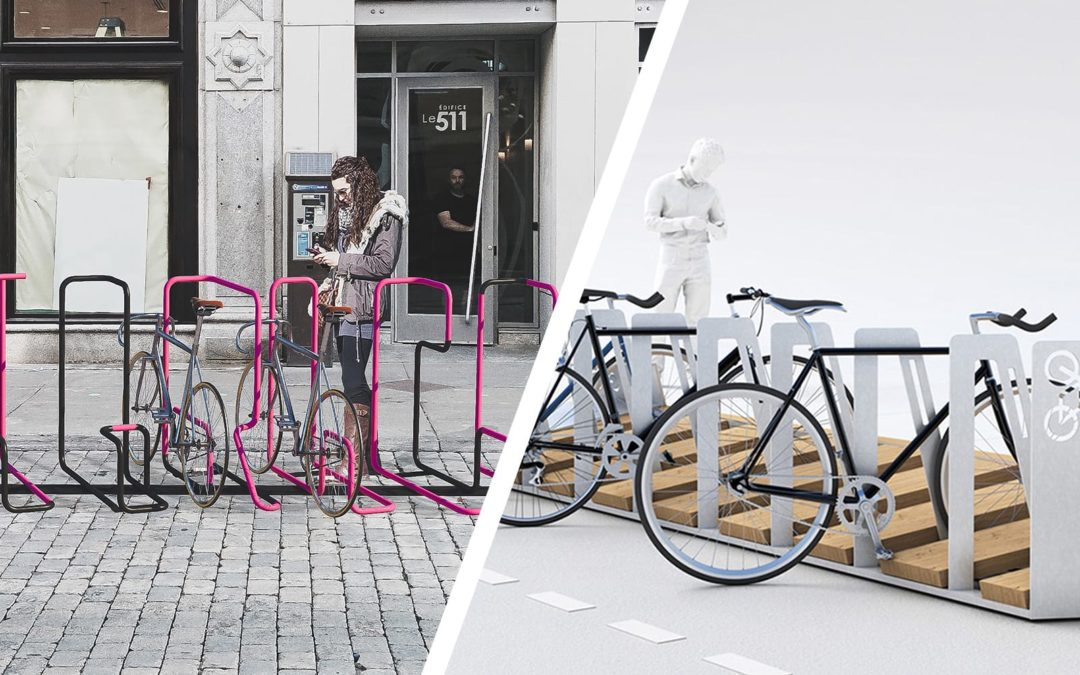 Choisissez le gagnant du concours de supports à vélo de la Ville de Québec
